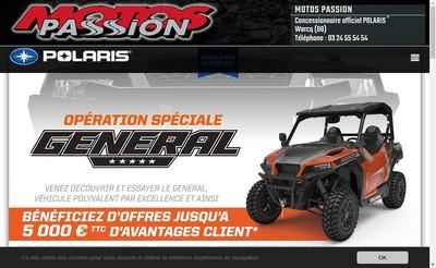 Site internet de Motos Passion