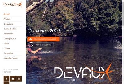 Site internet de Mouches Devaux Champagnole