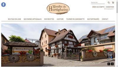 Site internet de Moulin de Hurtigheim R Becker et Fils
