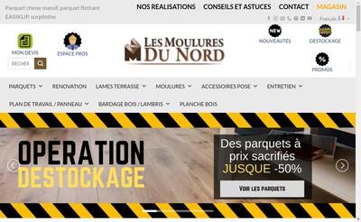 Site internet de Les Moulures du Nord