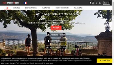 Site internet de Mountnpass