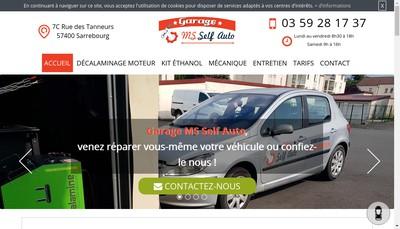 Site internet de Garage Pms