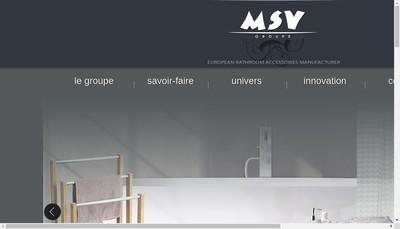 Site internet de Menage Selection Valnet