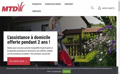Site internet de Mtd France