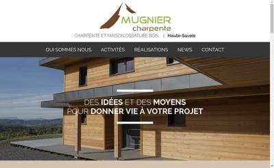 Site internet de Mugnier Charpente