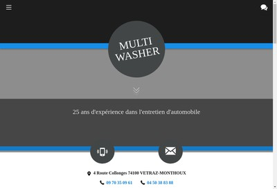 Site internet de Multi Washer