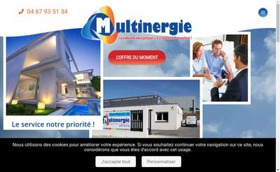 Site internet de Multinergie