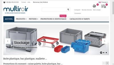 Site internet de Multiroir Controlec Mdose Multiroir