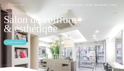 Site internet de Muriel Labro Coiffure