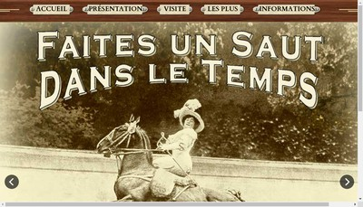 Site internet de Musee 1900
