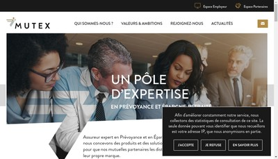 Site internet de Mutex