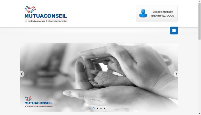 Capture d'écran du site de Mutuaconseil