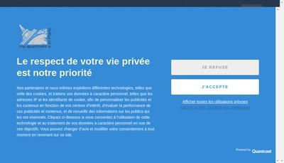 Site internet de My Apartment In Paris-My Bed In Paris
