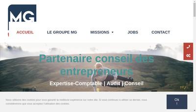 Site internet de Groupe Mg