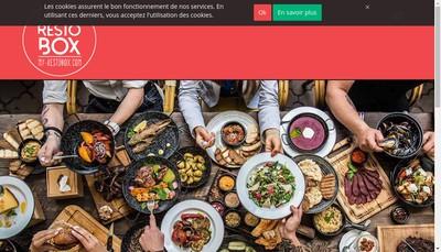 Site internet de My Restobox