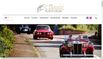 Site internet de My Classic Automobile