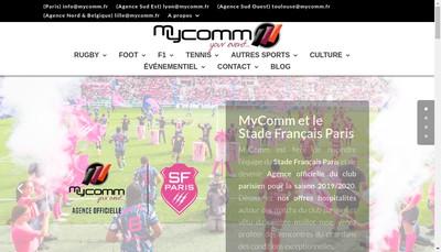 Site internet de Mycomm