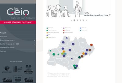 Capture d'écran du site de N5 Wine