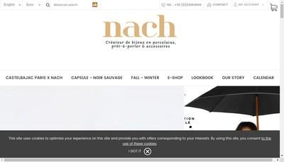Site internet de Nach