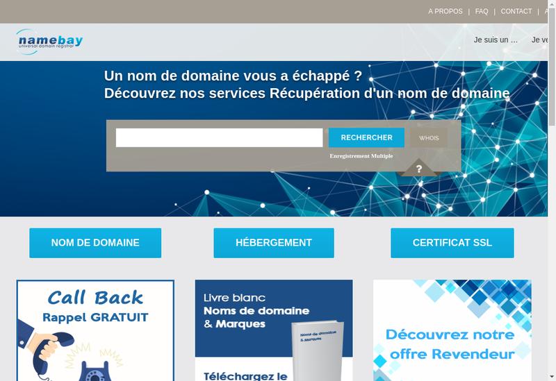 Capture d'écran du site de Copy Store