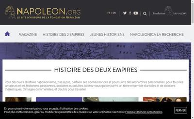 Site internet de Cinema Napoleon