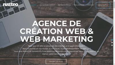Site internet de Nasteo