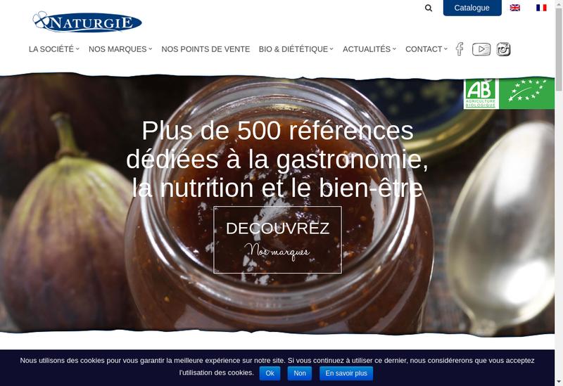 Capture d'écran du site de Naturgie