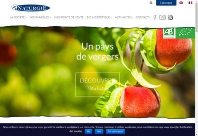 Site internet de Naturgie
