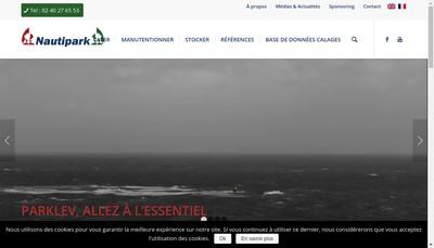 Site internet de Nauti Park