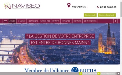 Site internet de Naviseo
