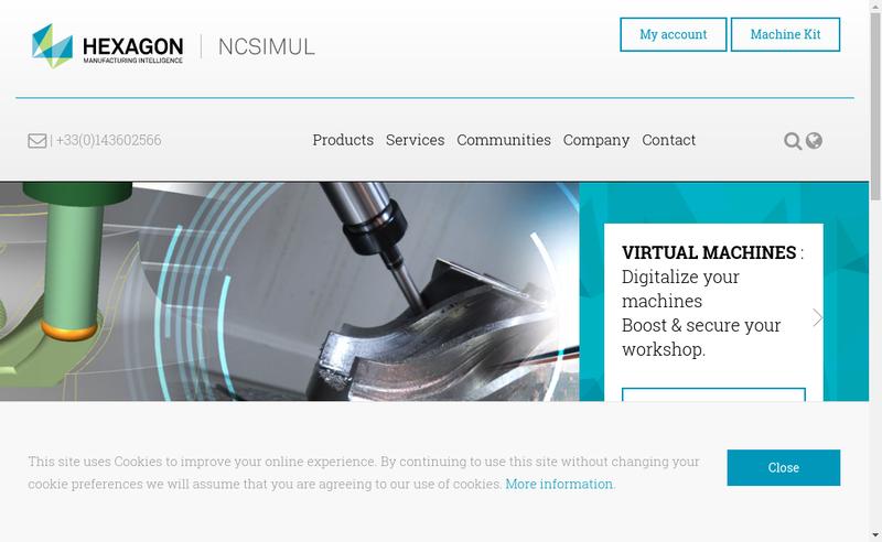 Capture d'écran du site de Cad Ecole Spring