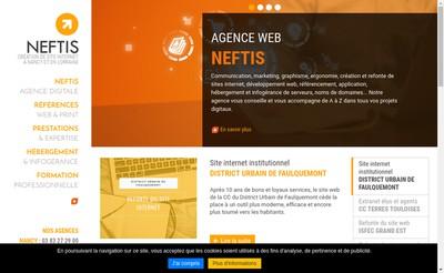 Site internet de Neftis