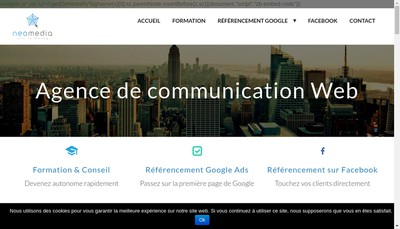 Site internet de Neomedia
