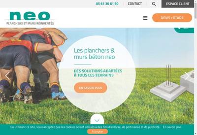 Site internet de Neo