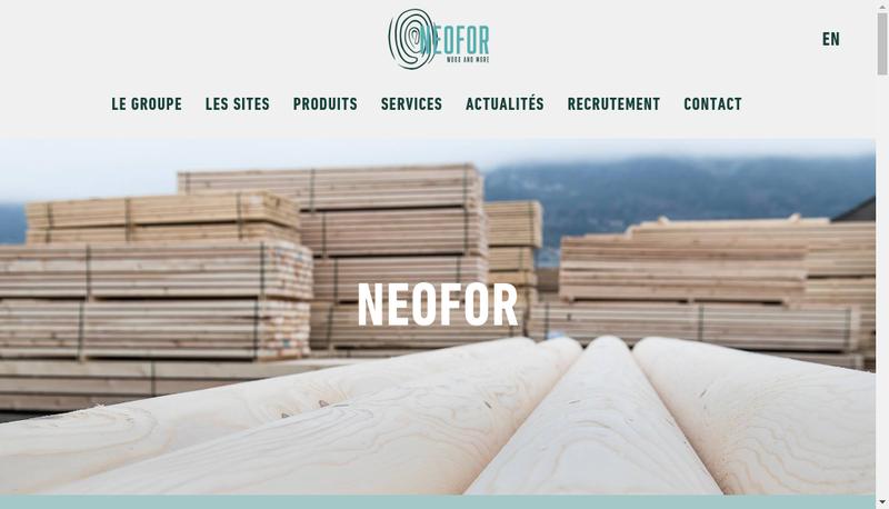 Capture d'écran du site de Brassac Industries