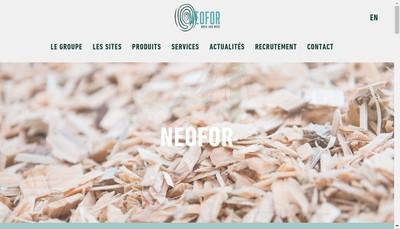 Site internet de Neofor Brassac Industries