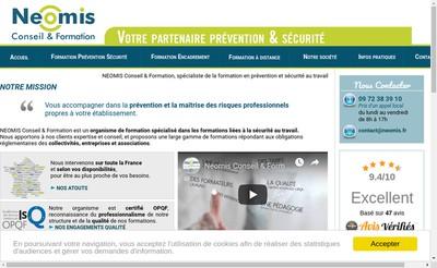 Site internet de Neomis