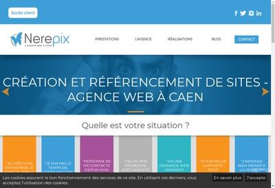 Site internet de Nerepix