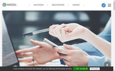 Site internet de Netizis