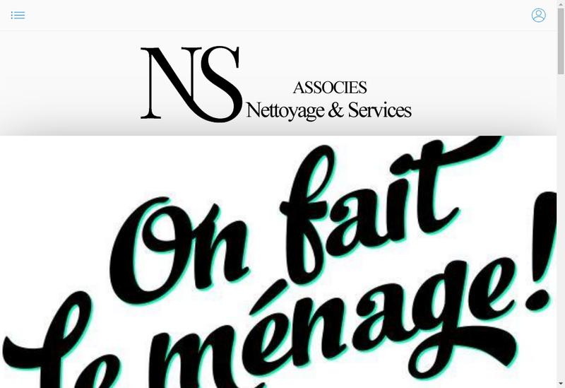 Capture d'écran du site de Ns-Associes