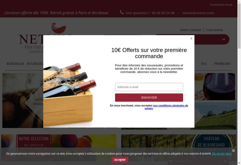 Capture d'écran du site de Group Diffus Guy Jeunemaitre