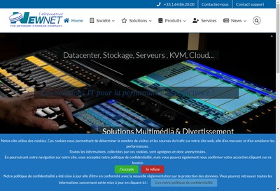 Site internet de Newnet