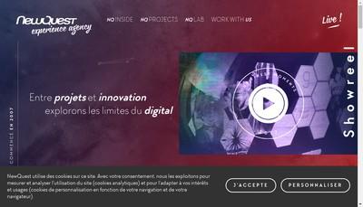 Site internet de Newquest Group