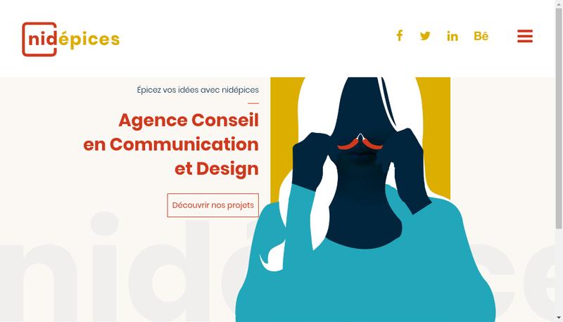 Capture d'écran du site de Nidepices