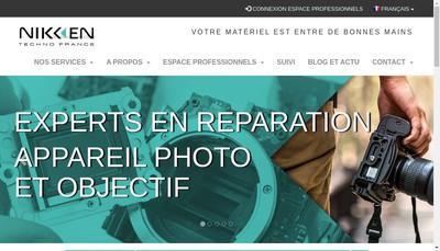 Site internet de Nikken Techno France