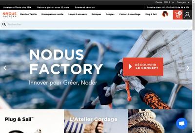 Site internet de Nodus Factory