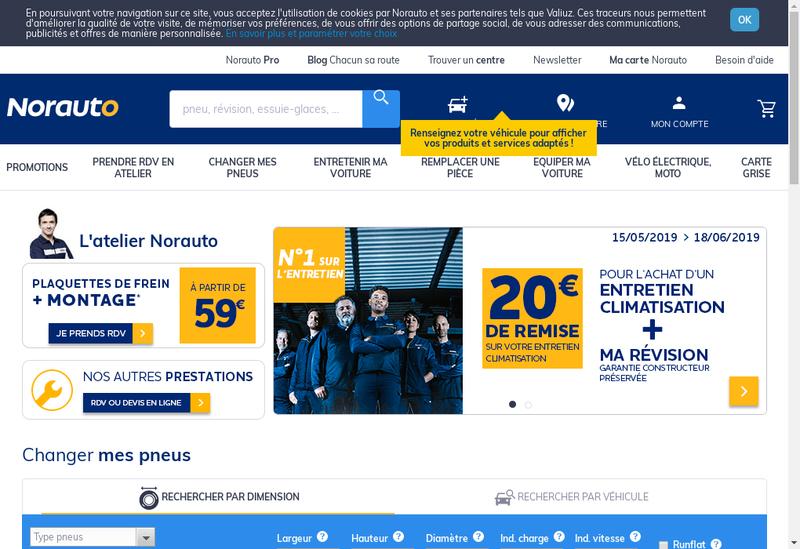 Capture d'écran du site de Drivepad