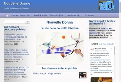 Site internet de Nouvelle Done