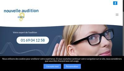 Site internet de Nouvelle Audition