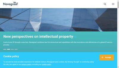 Site internet de Novagraaf France